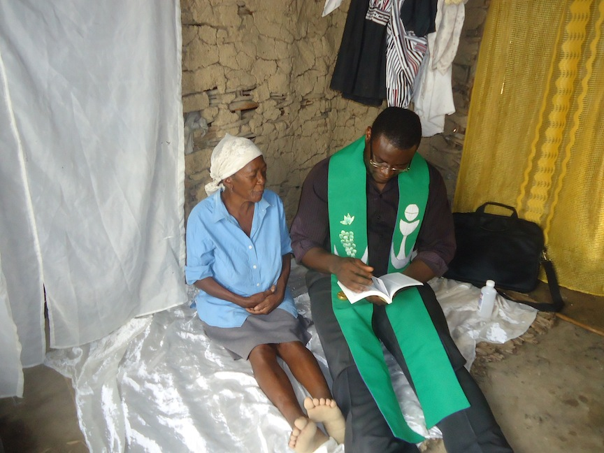 A Ministry of Hope to the Sick and Elderly in Haiti