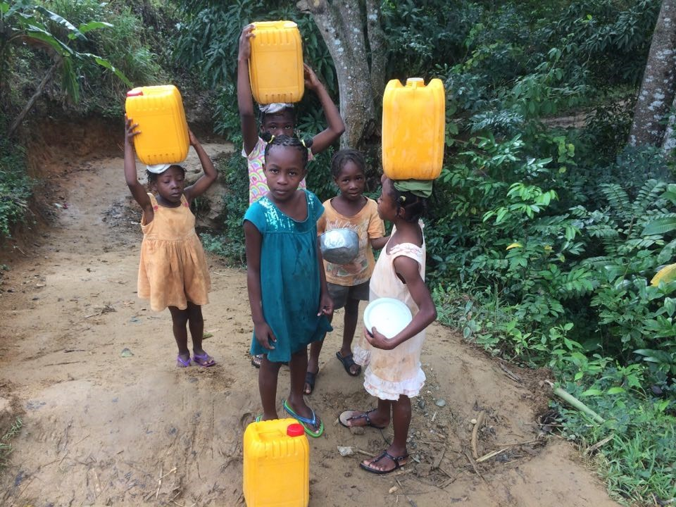Fr. Alexandre Hopes to Bring Water Purifying System to Parish in Mombin Crochu